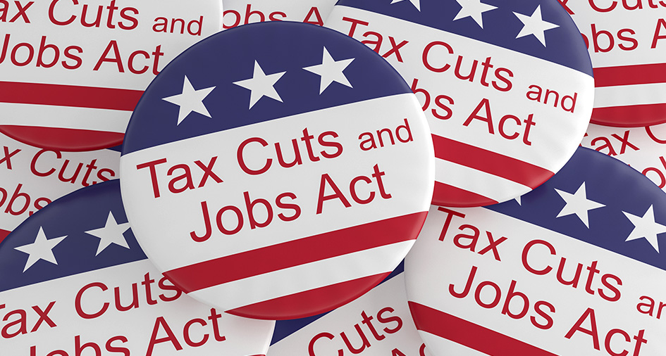 Tax Cuts and Jobs Act buttons
